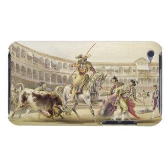 Tjur som laddar en Picador, 1865 (färglithoen) iPod Touch Skydd