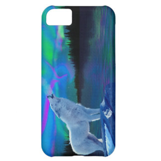Tjuta den arktiska varg- & iPhone 5C fodral