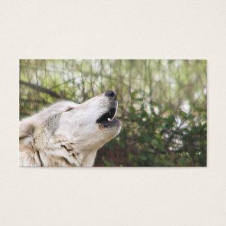 Tjuta den gråa vargen visitkort
