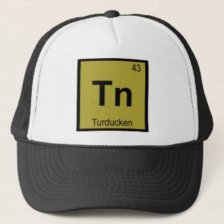 Tn - Symbol för Turducken thanksgivingkemi Truckerkeps