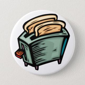 Toasteren knäppas mellanstor knapp rund 7.6 cm