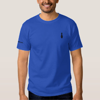 Toby broderade manar Poloskjortan Broderad T-shirt