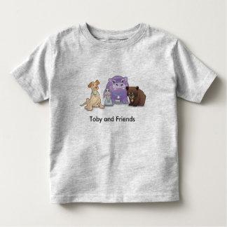 Toby och vänsmåbarnT-tröja T-shirt
