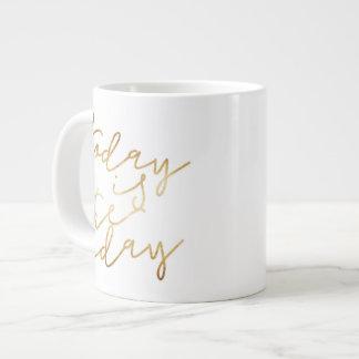 Todayen är dagkaffemuggen jumbo mugg