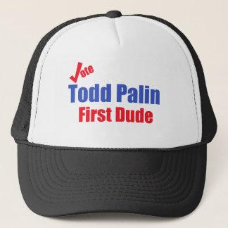 Todd Palin första Dude Keps