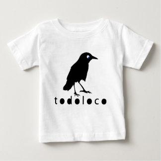 Todoloco kråka t-shirts