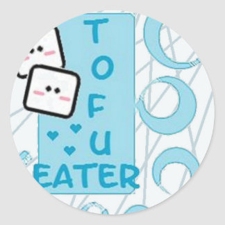 TofuEater Runt Klistermärke