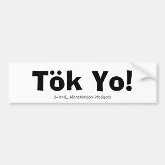 Tok Yo! Bildekal