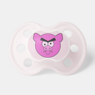 Tokig grisanpassningsbarnappar napp