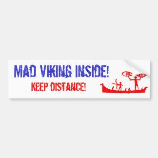 Tokig Viking bildekal