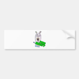 Tokiga kaninprodukter bildekal