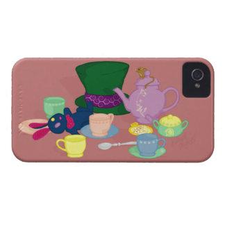 Tokigt fodral för Teapartyblackberry bold iPhone 4 Case-Mate Skal