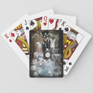 Tokigt HatterTeaparty Casinokort