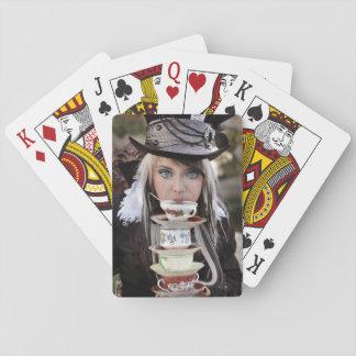 Tokigt HatterTeaparty Spelkort