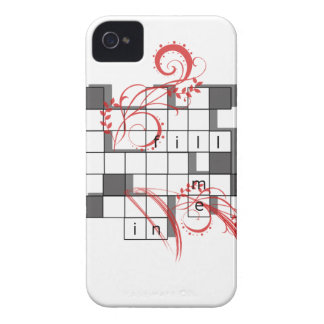Tokigt korsord iPhone 4 Case-Mate cases