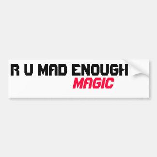 Tokigt nog magiskt för R U Bildekal