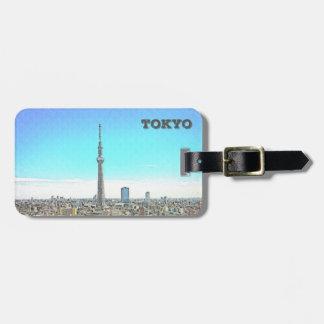 Tokyo torn bagagebricka