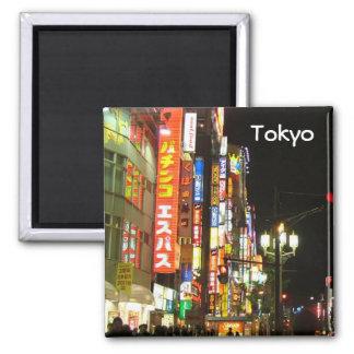 Tokyo vid natt magnet