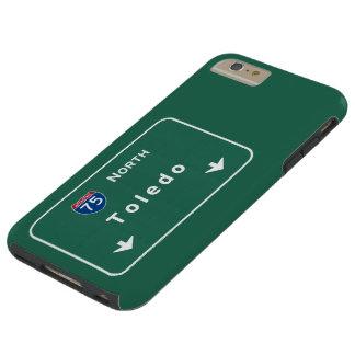 Toledo Ohio oh Interstate huvudvägmotorväg: Tough iPhone 6 Plus Skal