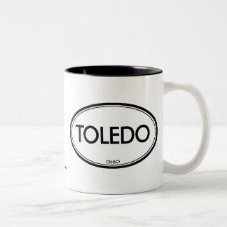 Toledo Ohio Två-Tonad Mugg