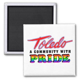 Toledo pride magnet