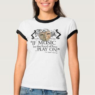 Tolfte nattmusikcitationstecken t-shirt