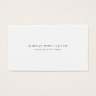 Tom affär för visitkort |