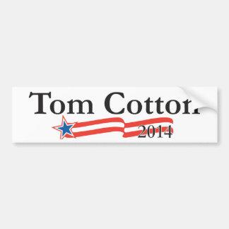 Tom bomull för senaten 2014 bildekal