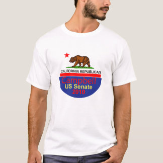 Tom CAMPBELL T-tröja 2010 T-shirts