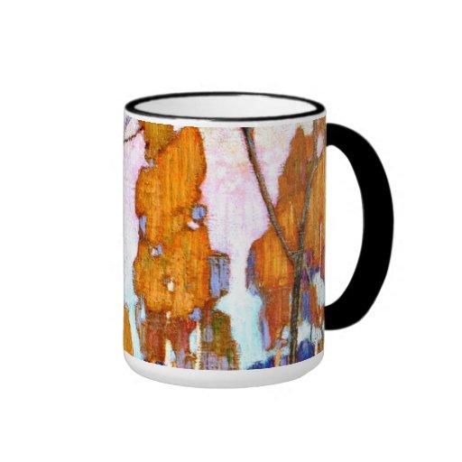 Tom dekorativa Thomson - landskap Kaffe Mugg