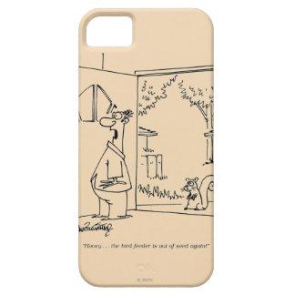 Tom fågelförlagematare iPhone 5 Case-Mate cases