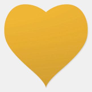 Tom MALL för återgångt guld för gåvor DIY: NVN64 Hjärtformat Klistermärke