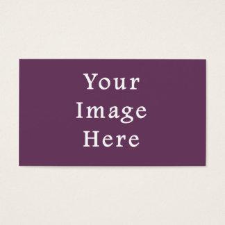 Tom mall för dammig trend för plommonlilafärg visitkort