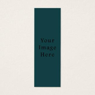 Tom mall för djup trend för smaragdgröntfärg litet visitkort