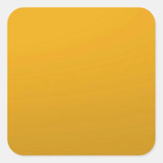 Tom MALL för guld: Tillfoga text, avbilda, fyll Fyrkantigt Klistermärke