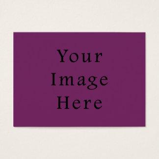 Tom mall för magentafärgad lilafärgtrend visitkort