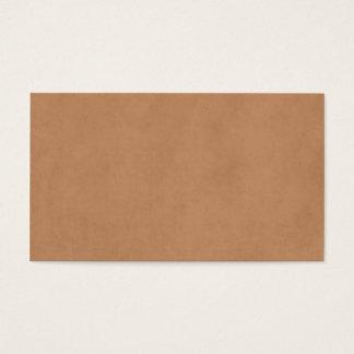 Tom mall för papper för antikvitet för visitkort