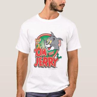 Tom och Jerry klassikerlogotyp Tshirts