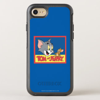 Tom och Jerry logotyplägenhet OtterBox Symmetry iPhone 7 Skal