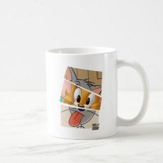 Tom och Jerry   Tom och Jerry Mashup Vit Mugg
