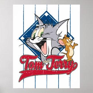 Tom och Jerry | Tom och Jerry på baseballdiamanten Poster