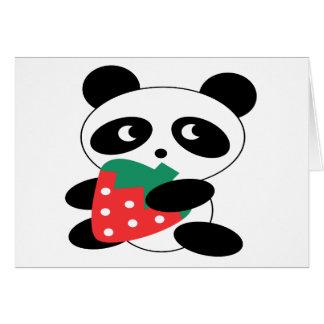 Tom Pandabjörn Hälsningskort