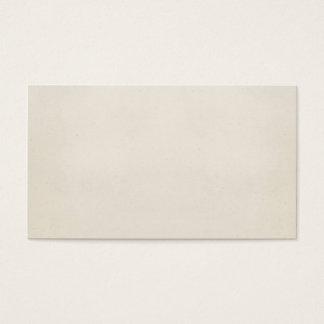 Tom papper mall 1817 för vintageParchment Visitkort