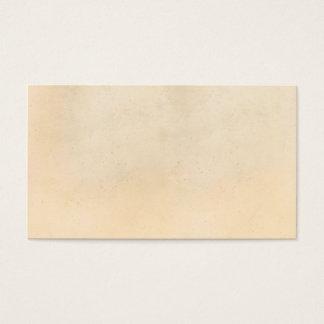 Tom papper mall 1850 för vintageParchment Visitkort
