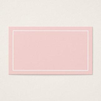 Tom rodna rosa brölloprådgivning och önskemål visitkort