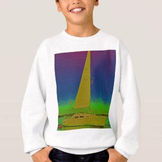 Tom stråles segelbåt t-shirt