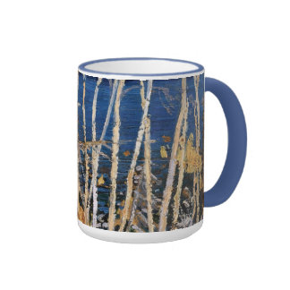 Tom Thomson - blått sjö Kaffe Mugg