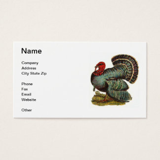 Tom Turkiet visitkort