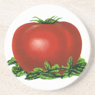 Tomat, grönsaker och frukter för vintage röd mogen underlägg
