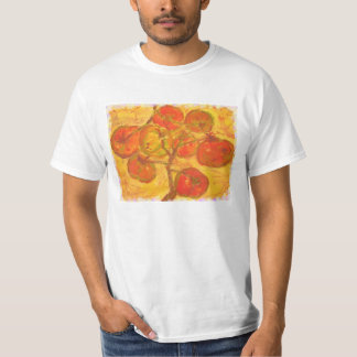 tomaten samla i en klunga akvarell t shirt